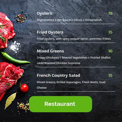 restaurant live demo