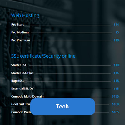 stylish-price-list-tech-demo